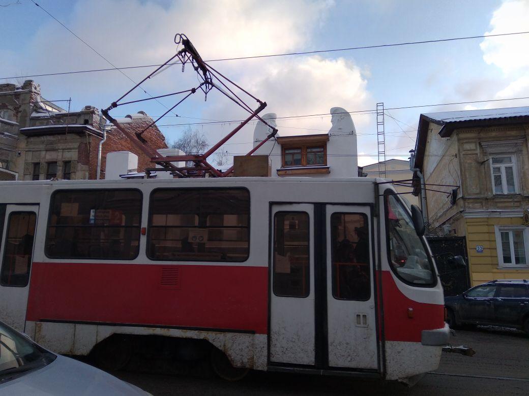 Трамвайное движение планируют развить в центре Нижнего Новгорода - фото 1