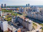 Ход строительства дома № 1 в ЖК Корица - фото 7, Август 2021