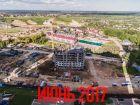 Ход строительства дома № 6 в ЖК Красная поляна - фото 44, Июнь 2017