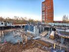 Каскад на Сусловой - ход строительства, фото 53, Ноябрь 2016