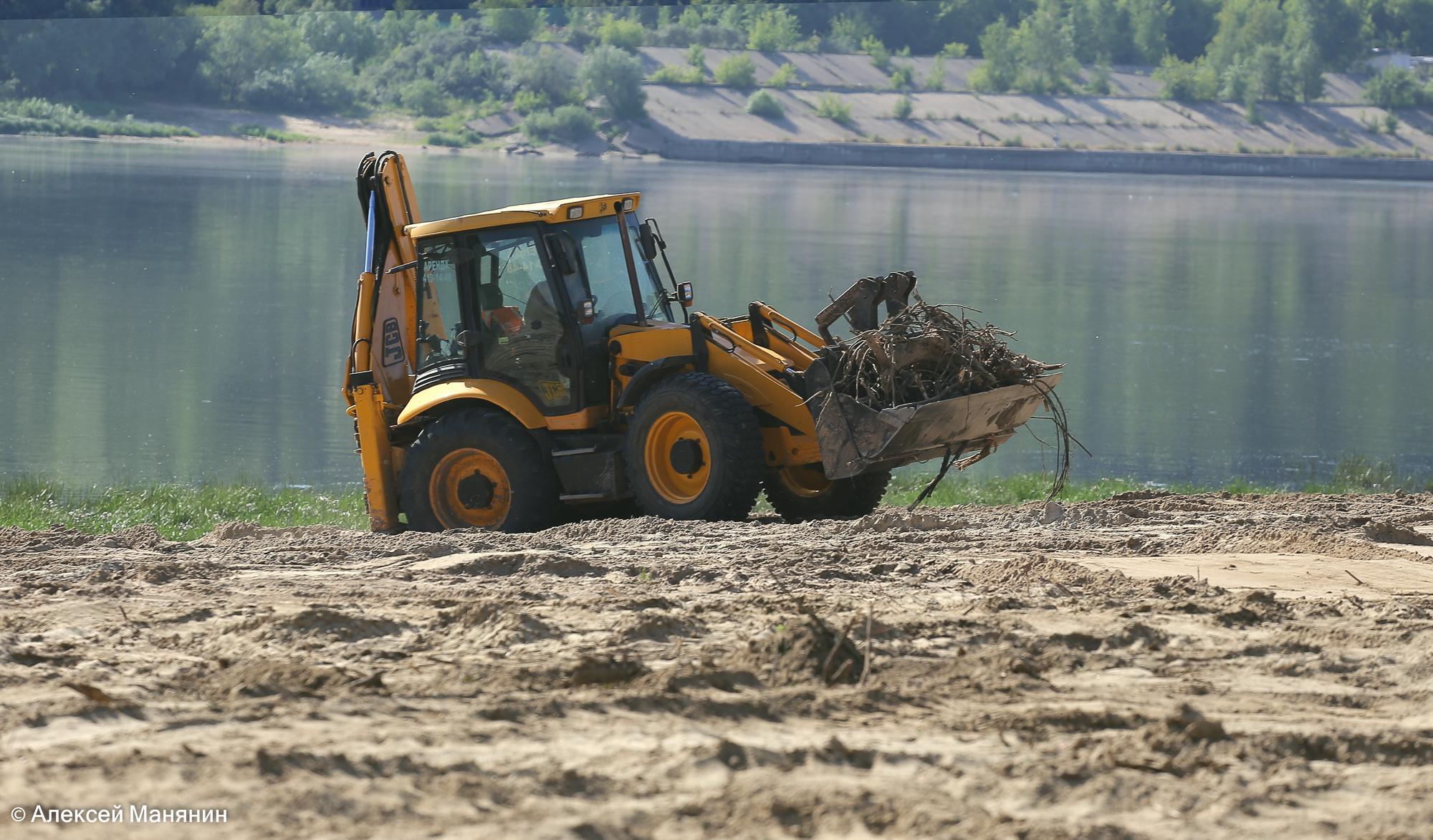 Обновленный пляж в Молитовском затоне должен открыться до конца июня