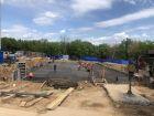 Ход строительства дома № 3 в ЖК Подкова на Родионова - фото 16, Июнь 2021