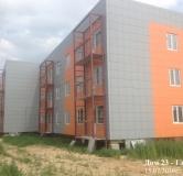 Ход строительства дома № 23 в ЖК Тридесятое -