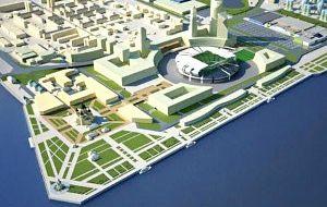 Берегоукрепительное сооружение правого берега р. Волга в Нижнем Новгороде
