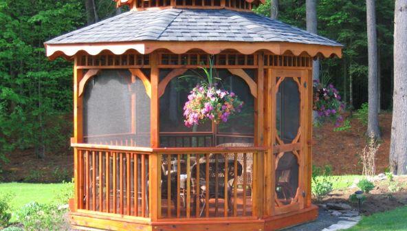 Хотите построить беседку и мангал на даче? Выбирайте модель!