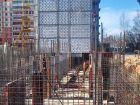 Ход строительства дома № 12 в ЖК На Победной - фото 27, Апрель 2014