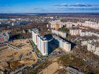 Ход строительства дома № 10 в ЖК Корабли - фото 13, Декабрь 2019