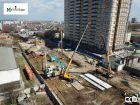 Ход строительства дома ул. Мечникова, 37 в ЖК Мечников - фото 65, Апрель 2019