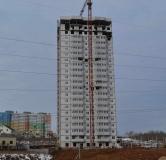 Ход строительства дома № 15 в ЖК Академический -
