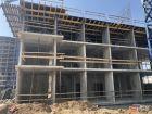 Ход строительства дома Литер 2 в ЖК Династия - фото 37, Август 2019