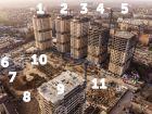 Ход строительства дома Литер 1 в ЖК Звезда Столицы - фото 21, Апрель 2020