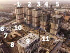 Ход строительства дома Литер 9 в ЖК Звезда Столицы - фото 23, Апрель 2020