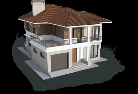 Вилла 1-го типа 180,5 м² 180,5 м² 180.5, КП Standart (Стандарт) - планировка