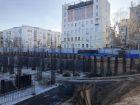 ЖК Каскад на Менделеева - ход строительства, фото 34, Ноябрь 2019