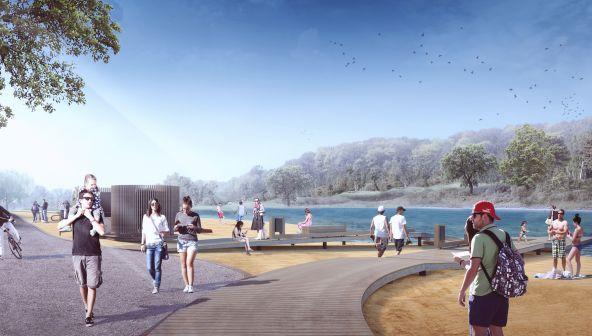 Проект комплексного благоустройства зоны озер Щелоковского хутора в Нижнем Новгороде