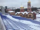 Ход строительства дома №1 в ЖК Воскресенская слобода - фото 11, Декабрь 2017