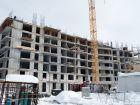 Ход строительства дома № 1 в ЖК Книги - фото 28, Февраль 2021