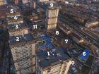 Ход строительства дома Литер 1 в ЖК Звезда Столицы - фото 3, Декабрь 2020